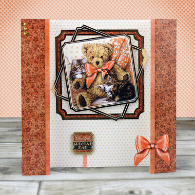 MC CRAFTERS new  3 FOR 1 - CARD MAKING kit by HUNKYDORY- PAWS for Thoughts