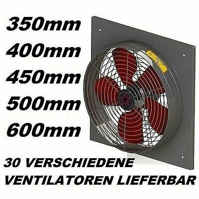450mm Industrial Commercial Extractor Air Ventilation Axial Ventilator wall Fan