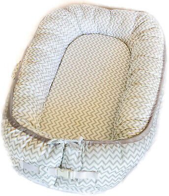 Newborn Baby Nest - Easy to Move, Co-Sleeping, Breathable and Soft, 100% Cotton