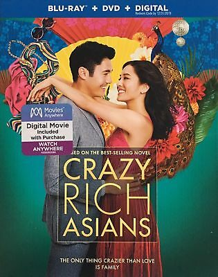Crazy Rich Asians Blu-ray + DVD + DIGITAL / NEW Fast Ship (STEF-275 / STEF-18)