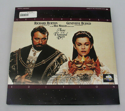 Anne Of The Thousand Days - Laser Disc - Letterboxed Edition - Richard Burton
