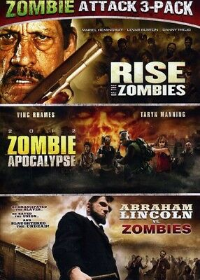 Rise of the Zombies/2012 Zombie Apocalypse/Abraham Lincoln (DVD Used Very Good)