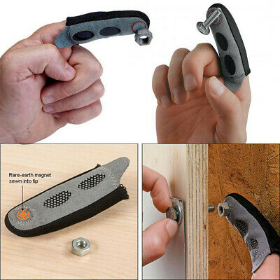 You'll Never Drop Another Screw On The Floor Magnetic Fingertip Sleeve Assures