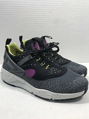 the latest for whole family 100% top quality NIKE AIR HUARACHE Utility PRM Shoes Medium Berry Cactus ...