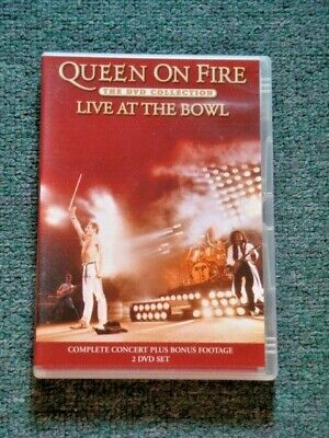 QUEEN ON FIRE--Live At The Bowl 2 DVD PAL SET--AUS//EUROPEAN Release--BRAND NEW