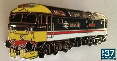 Class 47 47593 Galloway Princess Intercity Enamel Pin Railway Badge by the C37LG