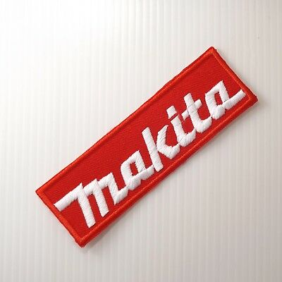 """4.0""""x1P. Makita Tools Embroidered Iron On Patch Cap Arm Chest Shirt Apparel"""