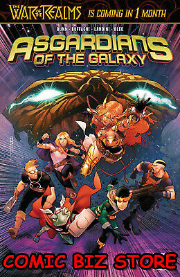 Asgardians Of The Galaxy #7 (2019) 1St Printing Bagged & Boarded Marvel Comics