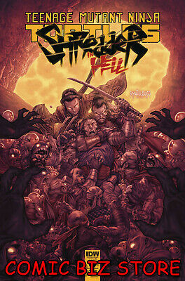 Tmnt Shredder In Hell #2 (2019) 1St Printing Cover A Santolouco Idw Comics