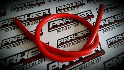 PIT BIKE YX Breather Pipe Supermoto Racing Red 10mm yx140 yx160