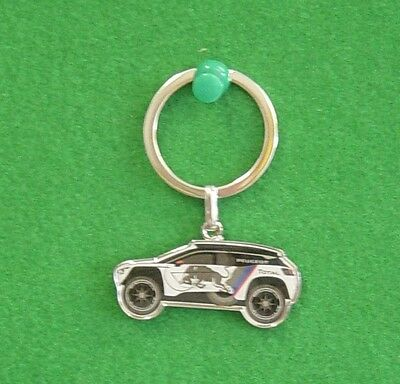 Vehicle Parts & Accessories Keyrings & Keyfobs Peugeot 3008 Dkr Dakar Rally Key Ring Key Fob Chain New Genuine 16ldkr301