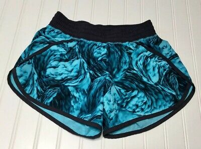d4576ec6a6ca C9 Champion Womens Running Shorts Size XS Blue Feather Wing Print Inner  Brief