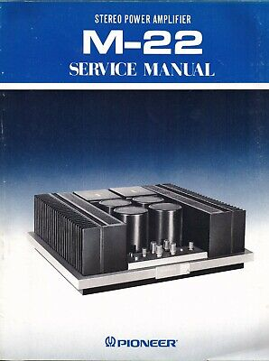 Pioneer M22 Original Service Manual. Money Back Guaranty