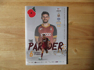 2018/19 Bradford City v Portsmouth League 1 03/11/18