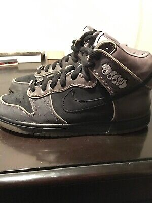 super cute 81d6f 09e75 Nike Sb Dunk Mf Doom Size 10 Pre Owned 100% Authentic No Box Dead stock