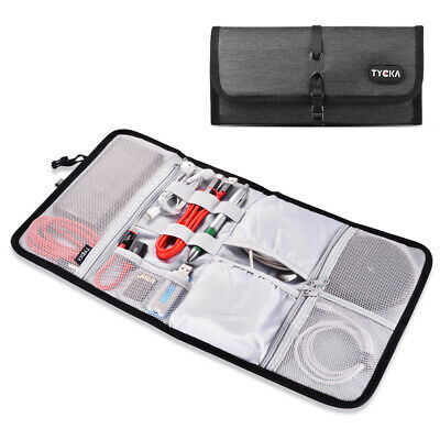 Electronic Accessories Storage USB Cable Organizer Bag Case Drive Travel TK308