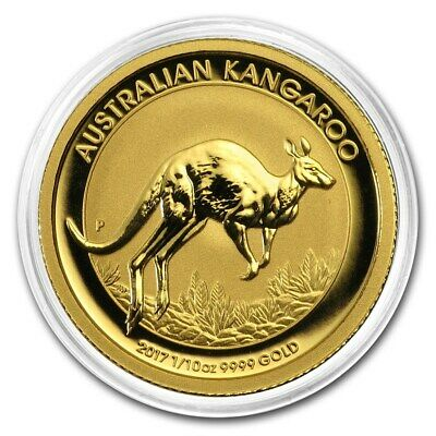 Perth Mint Kangaroo Minted Coin Gold, year 2017