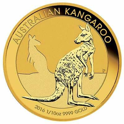 Perth Mint Kangaroo Minted Coin Gold, year 2016
