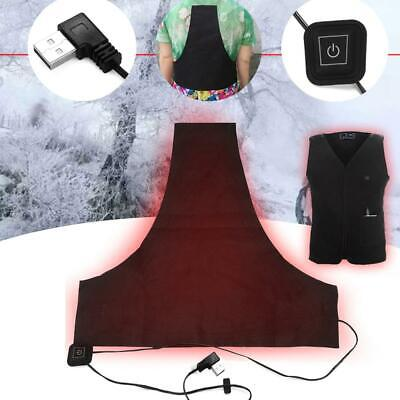 Clothing Warm Outdoor Mobile Jacket Heated USB Heating Vest Thermal Pad