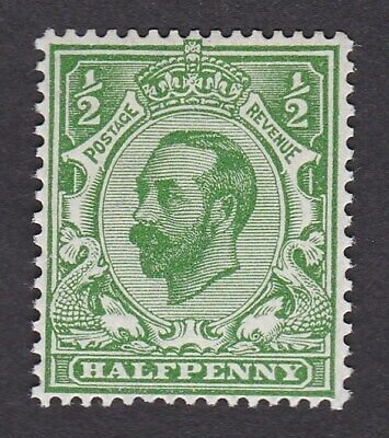 GB KGV 1912 Downey ½d booklet stamp wmk simple cypher INVERTED - see description