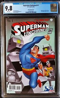Superman Unchained (2013 DC) #1 Timm 1930s Variant CGC 9.8 1:100
