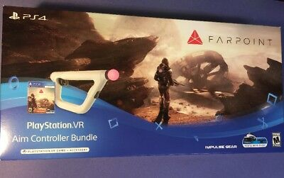 Farpoint PS VR Bundle [ Game + Aim Controller ] (PS4) NEW