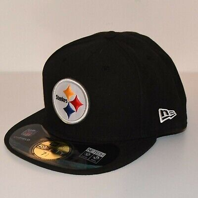 687599ab41b9e PITTSBURGH STEELERS NFL Mitchell And Ness Vintage Snapback Black Cap ...