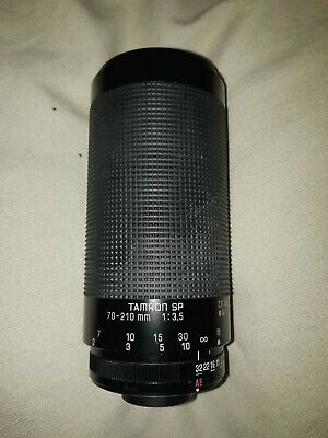 Tamron SP Adaptall SP 70 - 210mm F3.5 19AH Camera Lens