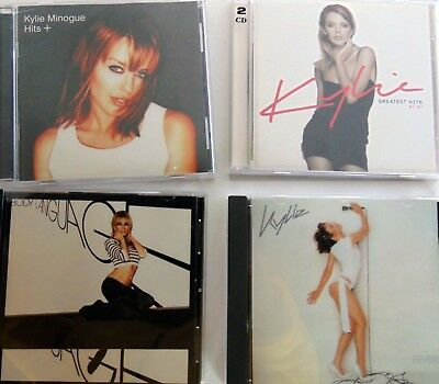 Lot of 4 CDs - Kylie Minogue  - Hits +, Greatest Hits, Body Language, Fever - VG