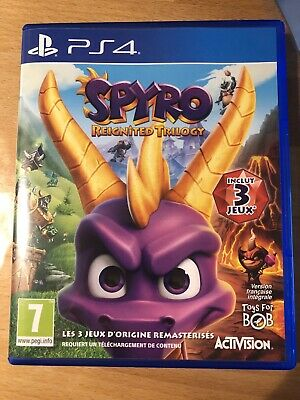 Jeu PS4 Spyro Reignited Trilogy