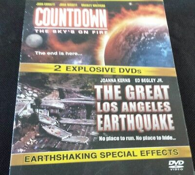 Disaster Double Feature/Countdown & The Great LA Earthquake DVD