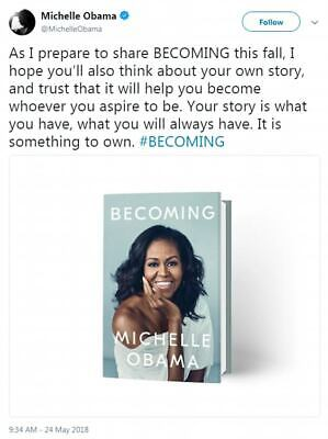 (Audiobook) Becoming by Michelle Obama ( DIGITAL DOWNLOAD - MP3)