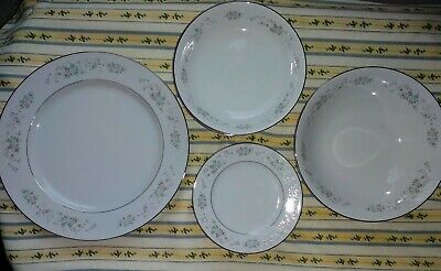 CARLTON CORSAGE Fine China 481 Japan Lot of 18 pieces.