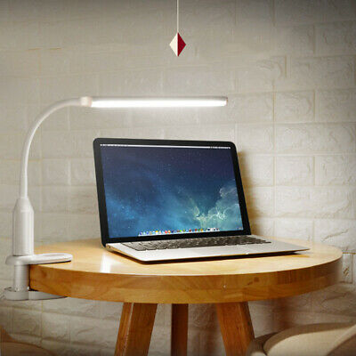 Flexible USB Clip-on Table Lamp LED Clamp Read/Study/Bed/Laptop/Desk Light K7W4N