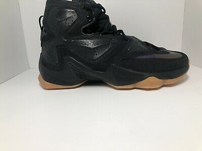 best sneakers b7e2b 8fcec New Nike Lebron James XIII 13 Mens Size 10 Black Lion Anthracite 807219-001