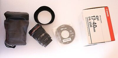 CANON EF 17 40 mm F4 Canon EF  EFS