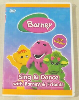 DVD - Barney - Sing & Dance with Barney & Friends - DVD Sampler