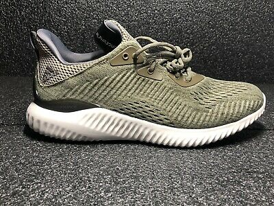 92ab8d017 NEW Adidas Alphabounce EM M Running Shoes Trace Olive   Grey Sz 8.5 BW1203