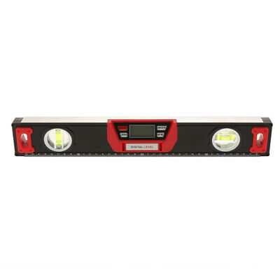 "16"" Professional Digital Spirit Level Ruler Magnetic Electronic Level Tool"