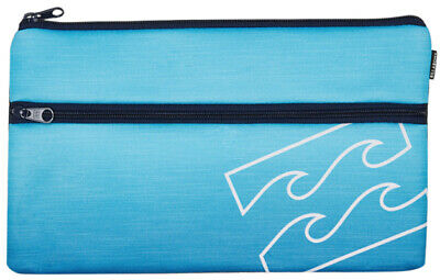 Billabong Pencil Case Bag New Storage Pen School Organiser Stationery Uni Jumbo