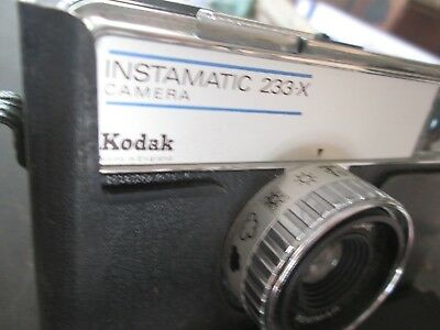 Kodak instamatic 233X camera