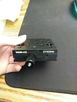 Thorlabs DTS 25/M 25mm Dovetail Translation Stage M6 Taps