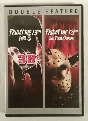 Friday the 13th Part 3 & the final chapter Double Feature dvd Deluxe Edition