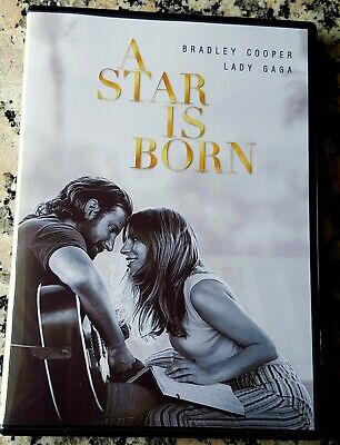 STAR IS BORN 2019 DVD Only Bradley Cooper Lady Gaga Sam Elliott Andrew Dice Clay