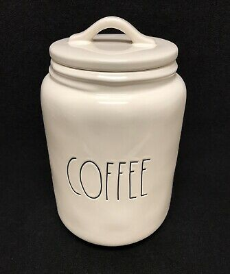 Rae Dunn by Magenta  COFFEE Large Letter Canister New!!