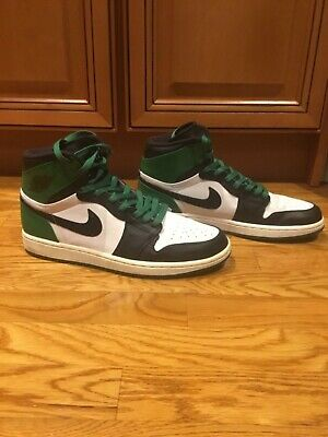 various colors de5d0 eefd4 2009 Nike Air Jordan 1 Retro DMP Boston Celtics Rare Size 9.5 High 332550  101