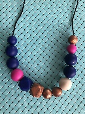 Silicone Necklace for Mum Jewellery Beads Aus Gift (was Teething) Custom Design