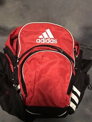 Adidas Soccer Backpack Style Duffle Bag Carrier Load Spring Extra Large Red 86d78e88c41c4