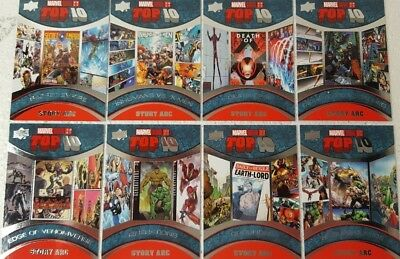2017 Upper Deck Marvel Annual Trading Card Set  TOP 10  STORY ARC TS 1 - 10