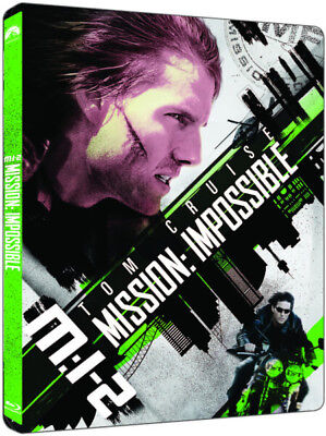 Mission Impossible II - Limited Edition Steelbook (4K Ultra HD + Blu-ray) *NEW*